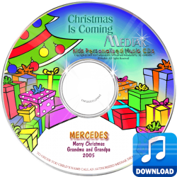 Personalized Christmas Is Coming Digital Music