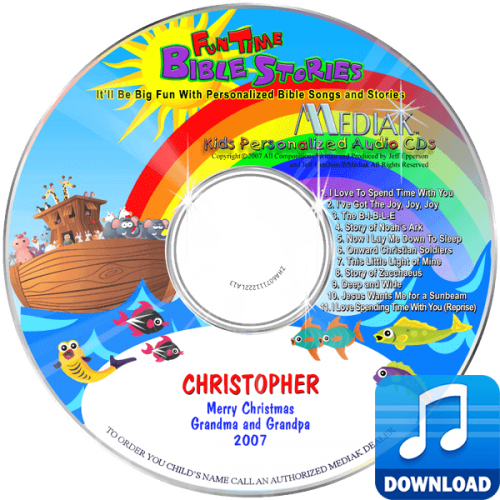 Personalized Fun Time Bible Stories Digital Music