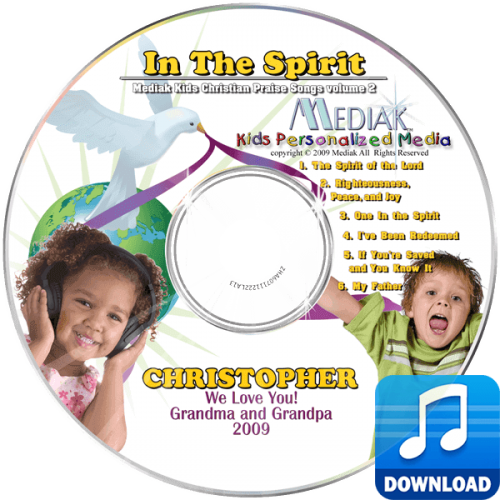 In the Spirit Personalized Children's Digital Music MP3