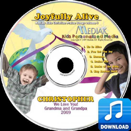 Joyfully Alive Personalized Children's Digital Music