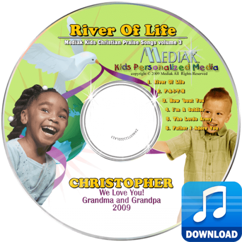 River of Life Personalized Children's Digital Music MP3