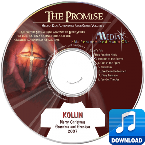The Promise Personalized Children's Digital Music MP3