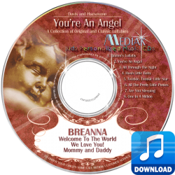 You're An Angel Personalized Children's Digital Music MP3