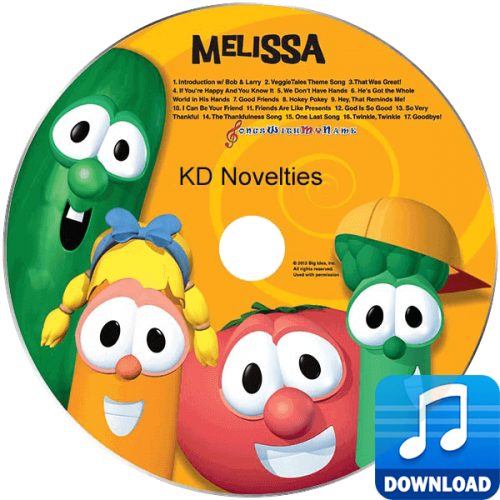 VeggieTales Sing-A-Long Personalized Children's Music MP3