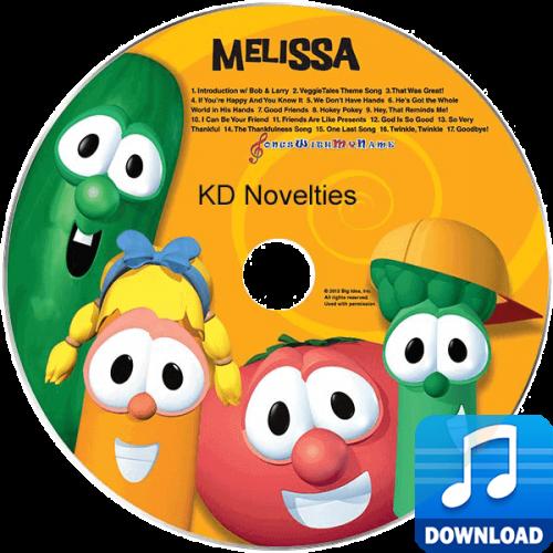VeggieTales Sing-A-Long Personalized Children's Music MP3