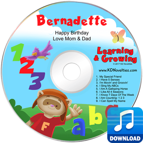 Learning and Growing Personalized Music MP3