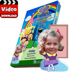 ABC Monsters Series - Two Episodes Personalized Digital MP4