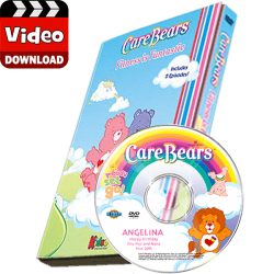 Care Bears Fitness Is Funtastic Photo Personalized Digital MP4