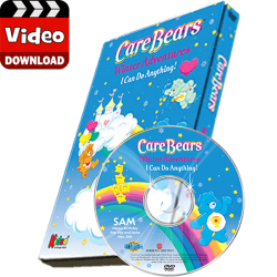 Care Bears Winter Adventures Photo Personalized Children's Digital MP4