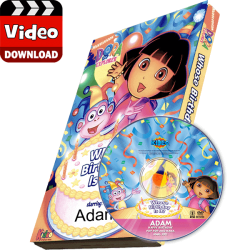 Dora the Explorer Kid's Photo Personalized Digital MP4