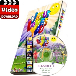 Jesus Loves You Personalized Kid's Digital MP4