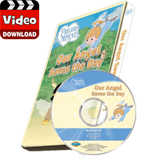 Precious Moments Kid's Photo Personalized Digital Video