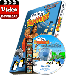 You Can Do Anything Personalized Kid's Digital MP4