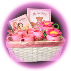 Disney Princesses Tea Party Gift Basket
