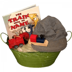 Train Gift Basket for Kids