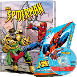 Spider-Man Personalized Children's Book and DVD