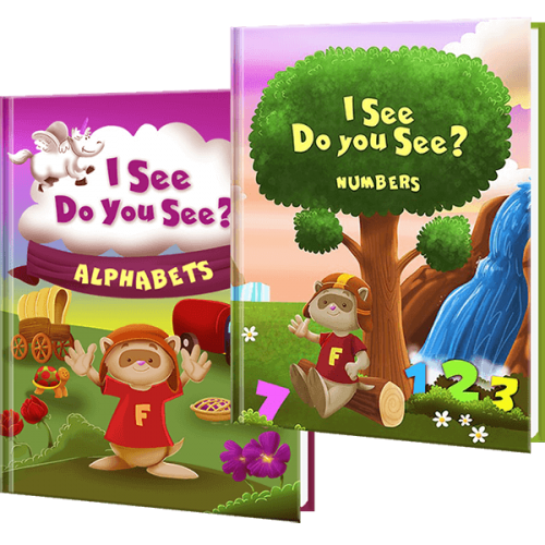 I See Do You See - Personalized Children's Books