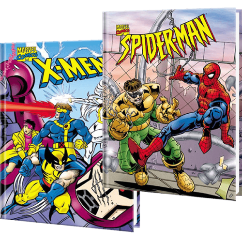 Marvel Spider-Man and X-Men Children's Personalized Book Gift Set