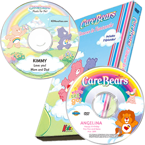 Care Bears Fitness Personalized Children's DVD and Music