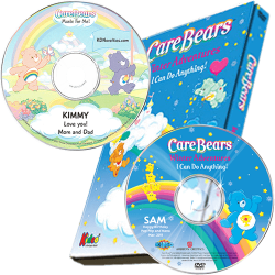 Care Bears Winter Adventures Children's Personalized DVD and Music