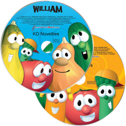 Personalized VeggieTales Music CDs Gift Set