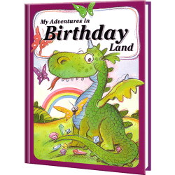 My Adventures in Birthday Land Personalized Children's Book