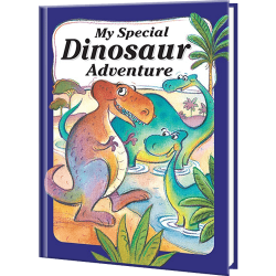 My Special Dinosaur Adventure Personalized Book for Kids
