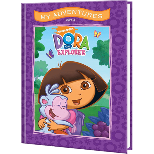 My Adventures with Dora the Explorer Personalized Book