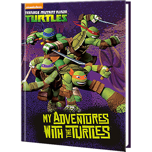 My Adventures with the Teenage Mutant Ninja Turtles Personalized Book
