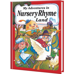 My Adventures in Nursery Rhyme Land Personalized Book