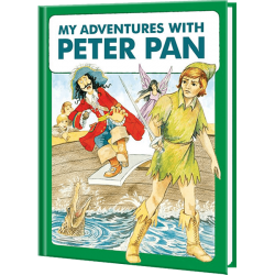 Personalized My Adventures with Peter Pan Book