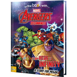 Personalized Avengers Beginnings Superhero Book