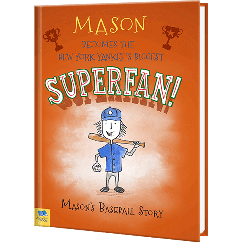 Baseball Superfan Personalized Sports Book