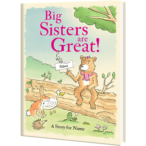 Big Sisters are Great Personalized Book