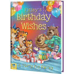 Birthday Wishes - Personalized Book