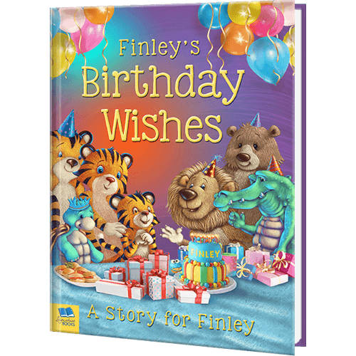 Make a Little One's Big Day Special With A Personalized Birthday Book!