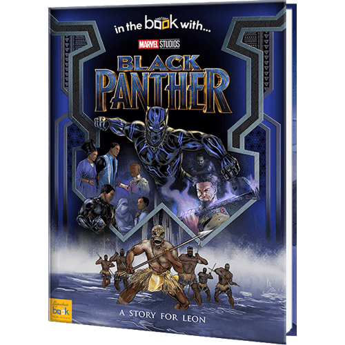 Personalized Marvel's Black Panther Superhero Book