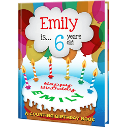 Birthday Counting Personalized Book