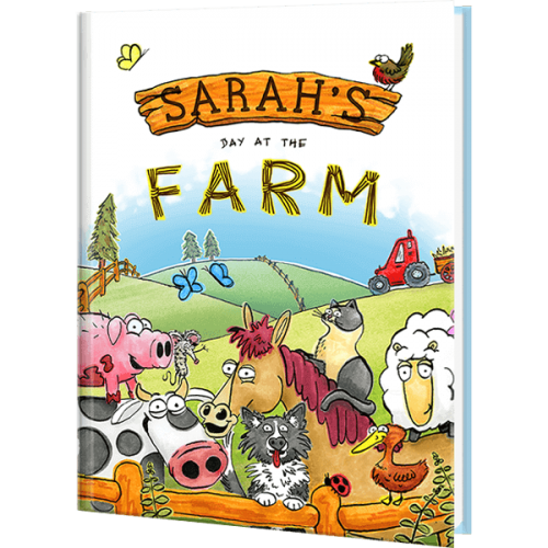 My Day at the Farm Personalized Children's Book