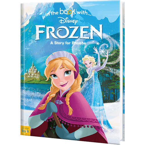 personalized disney s frozen book