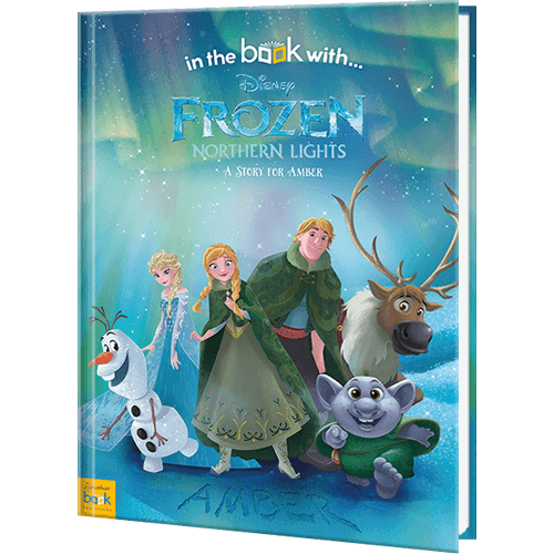 personalized disney s frozen northern lights book