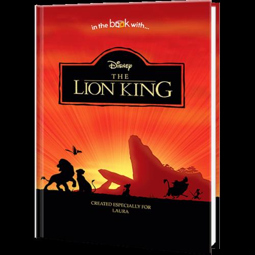Disney Lion King Premium Personalized Book