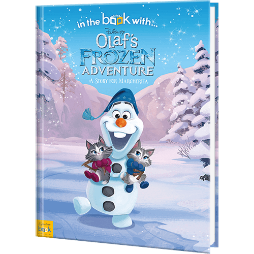 personalized disney s olaf s frozen adventure book