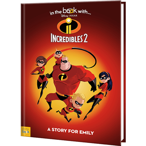 The Incredibles 2 Personalized Story Book