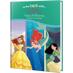 Personalized Children's Disney Princess Tales of Bravery Book