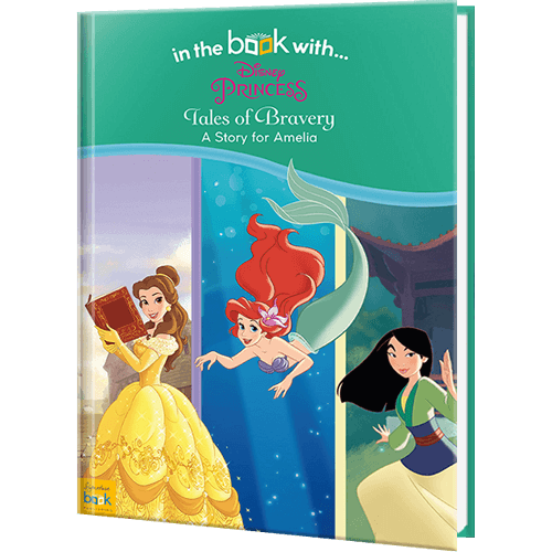 Disney Princess Tales of Bravery Personalized Book
