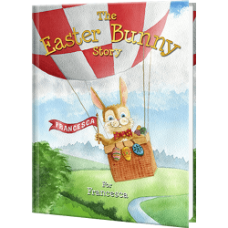 Personalized Easter Bunny Story Book