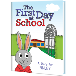 First Day At School Personalized Story Book