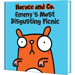 Flossy and Jim Most Disgusting Picnic Personalized Children's Book