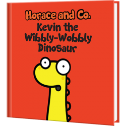Flossy and Jim The Wibbly-Wobbly Dinosaur Personalized Children's Book